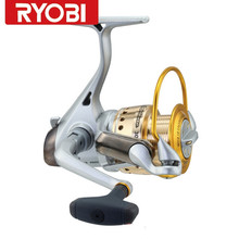 100%Original RYOBI Applause Full Metal Body Cheap Spinning Fishing Reel Carretes De Pescar Olta Moulinet Carp Reel Free Shipping