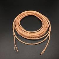 Tiandirenhe DIY Auricular Cable de $ number núcleos de Actualización de Audio Cables de ALTA FIDELIDAD de la Música Auriculares Estéreo Bass 1.5 m 5 m 10 m Sola Alambre de Cobre de cristal