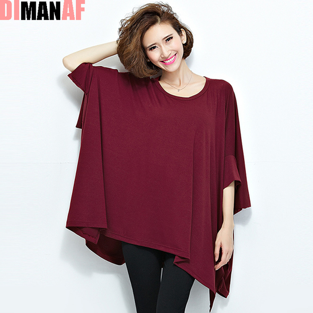 Plus Size Women Summer T-Shirt O-Neck Cotton Casual Tops&Tees Female Solid TShirt Batwing Sleeve T Shirt Big Size 4XL 5XL 6XL