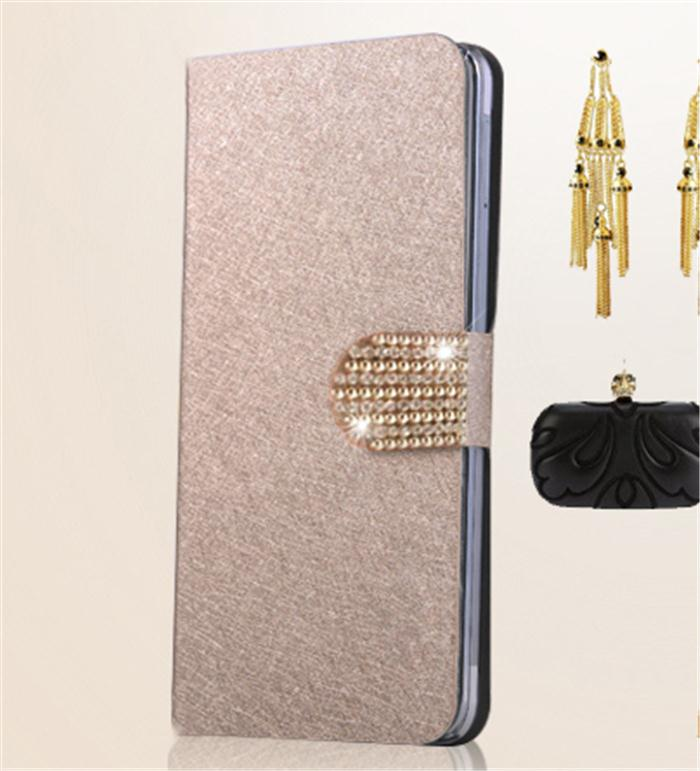 New Luxury Silk Phone Bags Cases For Samsung Galaxy S4 s 4 Active i9295 i 9295 Fashion Flip Case Cover Diamond Free Shipping