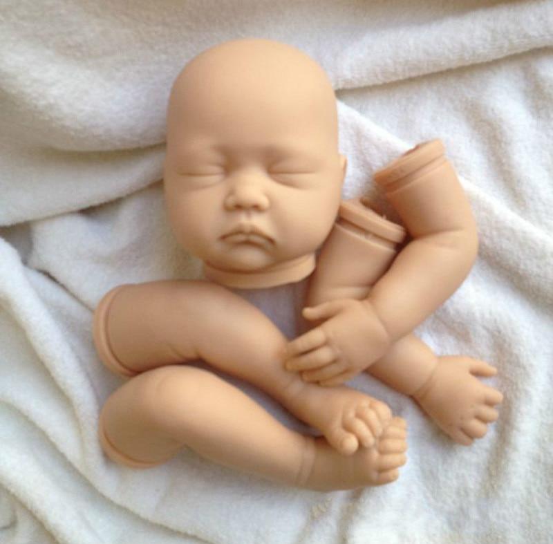 DIY Handmade Silicone Reborn Baby Doll Kits Babies Kits Reborn Doll Accessories for Reborn Baby Doll warkings reborn