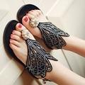 Senhoras Novidade Alta qualidade Gladiador Barato Falso diamante de Volta Cinta Plataforma Sandálias de Verão Sapatos de Praia Meninas Tangas Escola