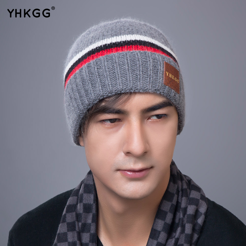 YHKGG winter autumn reversible beanie men hat womens hats touca gorro snow caps knit hat skull comfortable warm unisex skullies hight quality winter beanies women plain warm soft beanie skull knit cap hats solid color hat for men knitted touca gorro caps