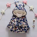 BibiCola Meninas Do Bebê Crianças Casaco outerwear Crianças Casacos Florais para Meninas Jaqueta de Inverno Quente Com Capuz Crianças Roupas de Banda Desenhada