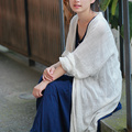 Женщины Блузки Сплошной Цвет Хлопок и Лен Длинные Рубашки Женщины С Длинным Рукавом Тонкий Vintage Open Stitich Случайные свободные Женщины Топы
