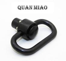 цена на 4PCS  Push Button Quick Release Detachable Sling Swivel Mount Tactical Sling QD Loop Adapter For Gun Rifle Shotgun hunting