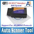 2016 Best quality elm327 Wifi Scanner Diagnostic Tool elm 327 wifi obd2 scanner V 2.1 Wireless Works on elm327 Torque