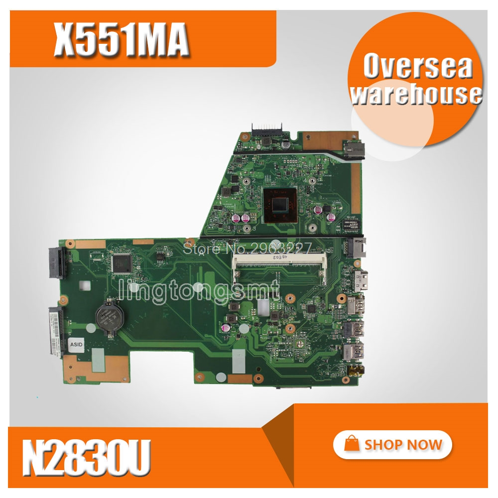 with 2 cores / 4 cores CPU X551MA Motherboard For ASUS D550M F551M X551M Laptop motherboard X551MA Mainboard X551MA Motherboard 4cores n2930 1 833ghz cpu x551ma motherboard for asus f551ma x551ma d550m laptop motherboard x551ma mainboard x551ma motherboard