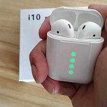 Оригинальный i10 СПЦ 1:1 мини беспроводной Bluetooth 5,0 3D Спорт 3D бас наушники для pk i12 i20 i40 i50 СПЦ