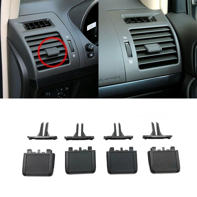 Car Accessories 1pcs For Toyota Land Cruiser Prado FJ150 2010-2017 Black Plastic A/C Air Vent Outlet Tab Clip Repair Kit