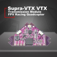Supra-VTX VTX 5.8G 40CH 25mw 100mw 200mw Transmitter OSD Adjustable For Brushed Bwhoop Mobula7 Mobula6 FPV Racing Quadcopter ldarc tiny 6x tiny 6 upgraded version 65mm mini fpv drone f3 betaflight fc 25mw 16ch vtx 716 17600kv brushed motor 250mah ph2 0