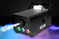 Min Wireless Control LED 400W Smoke Machine RGB Chang Color Led Fog Machine Professional Led Par