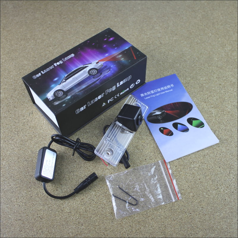 Automobile Prevention Anti Fog Haze Laser Lamps For Chevy Chevrolet Lacetti / Matiz Nubira Collision Brake Light Warning