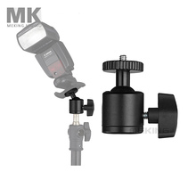 New Selens metal Mini ball head for camera / tripod ballhead MK-9 flash bracket