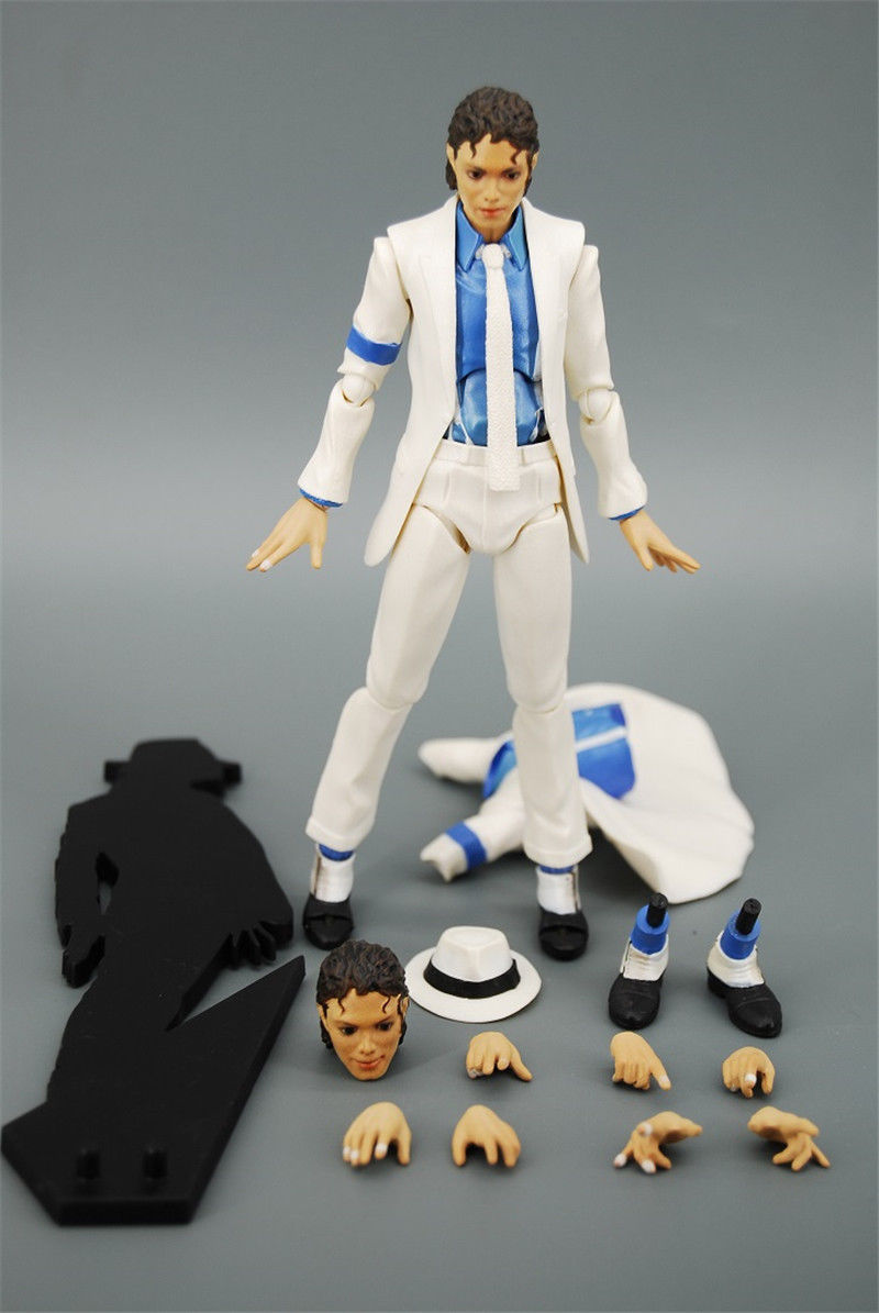 S.H.Figuarts SHF Michael Jackson PVC Action Figure New Anime Figure Collectible Model Toy ...