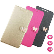 High Quality PU Leather Case For Lenovo S580 / S 580 Fip Cover Case Housing With Card Slot LenovoS580 Mobile Phone Covers Cases(China)
