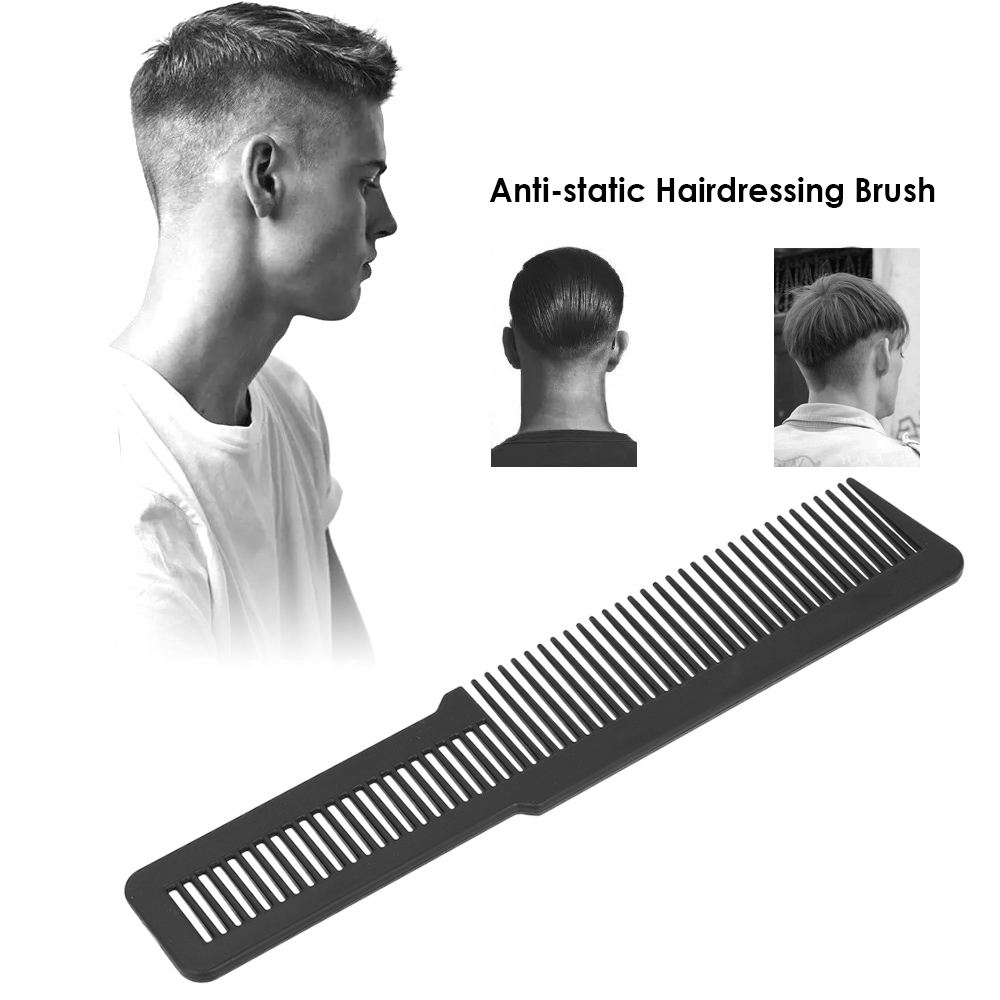 Anti-Static Hair Comb Plastic Salon Hair Brush Fine Teeth Hair Styling Sectioning Combs Barber Hairdressing Cutting Dyeing Brush