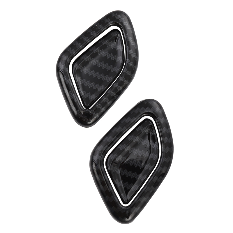 Lsrtw2017 Carbon Fiber Abs Car Seat Headrest Button Trim Sticker for Bmw X3 2018 2019 2020 in Interior Mouldings from Automobiles Motorcycles