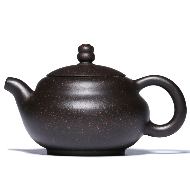 Authentic Chinese Yixing Purple Clay Teapots Kungfu zisha Tea pot Famous Handmade Gourd teapot Teaware set For Gift Safe Package