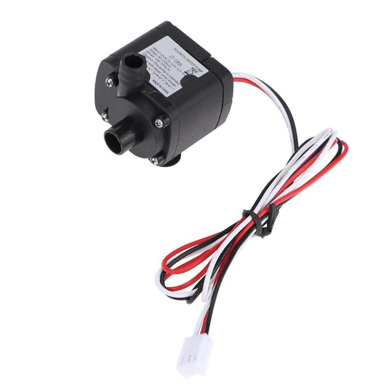 ALLOYSEED 12V Electric Silent Brushless Computer Water Cooling Mini Water Circulation Pump for Aquarium Fountain Medical Cooling dc24v brushless water pump mute large flow high efficiency for medical care coffee machine ordinary aquarium water cycle diy