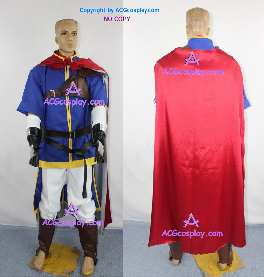 fire emblem super smash brothers brawl ike cosplay costume include shoes cover acgcosplayjpg