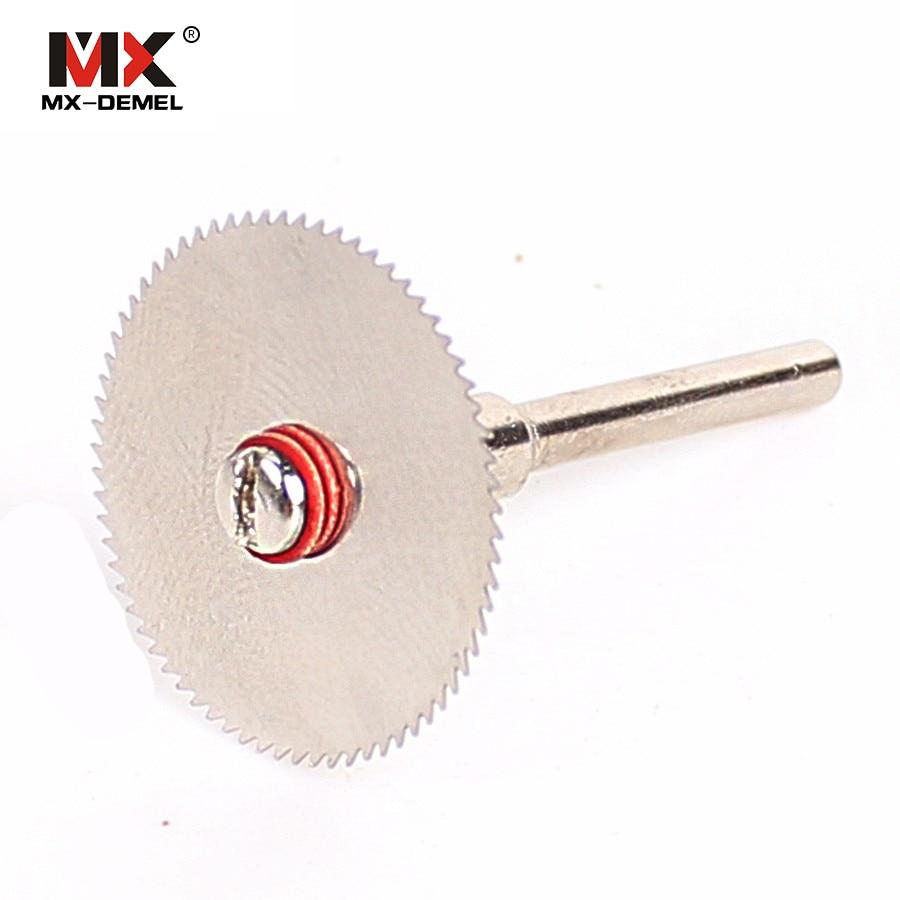 MX-DEMEL 5x 22 mm Wood Cutting Disc Dremel Rotary Tool Blade Bremel Cutting Tool For Woodworking Tool Cut off Dremel Accessories стоимость