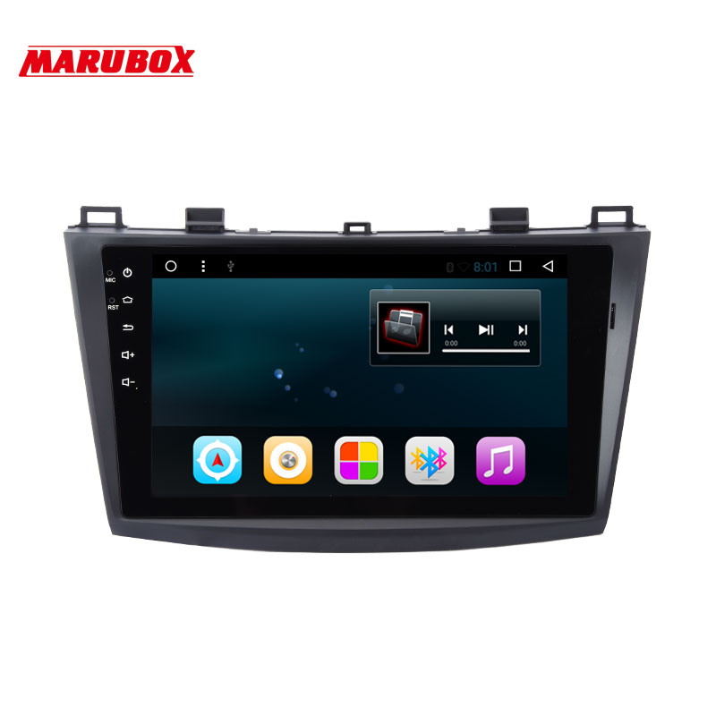 marubox m9a702r16 android 6 0 car radio gps for mazda3. Black Bedroom Furniture Sets. Home Design Ideas