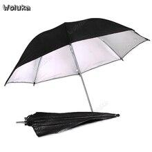 84 см черный, серебристый цвет Фото Студийный зонт-профессиональная вспышка для УБЯ с высокой отражательной способностью с зонтом Apareil фото CD50 T10