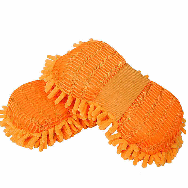 Image 2 - Microfiber Car Washer Sponge Cleaning Car Care Detailing Brushes Washing Cloth Towel Auto Gloves Styling Wash Accessories-in Sponges, Cloths & Brushes from Automobiles & Motorcycles
