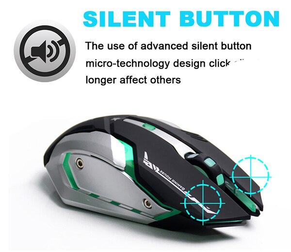 AZZOR Rechargeable Wireless Gaming Mouse AZZOR Rechargeable Wireless Gaming Mouse HTB11JYkSXXXXXauXpXXq6xXFXXXM