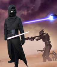 Adult KIDS size in stock Star Wars 7:The Force Awakens Kylo Ren Cosplay Costume Halloween Cosplay