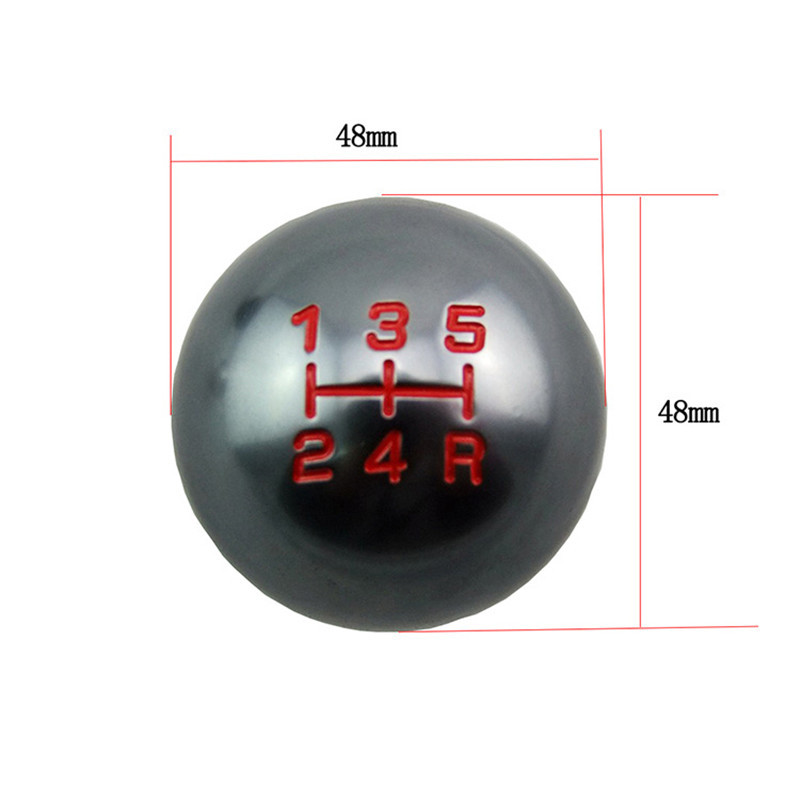Image 5 - SPEEDWOW Car 5/6 Speed Manual Transmission Gear Shift Knob Ball M10x1.5 Thread Shifter Lever Handle For Honda Civic City CRV-in Gear Shift Knob from Automobiles & Motorcycles