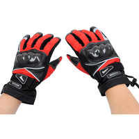 Free Shipping Hot Sale 3 Colors Pro Biker MTV 02 Full Finger Thick Warm Waterproof Fabric