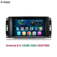 7 Inch 2 Din Android 4 4 CAR DVD GPS Player For Chrysler 300C Sebring Jeep