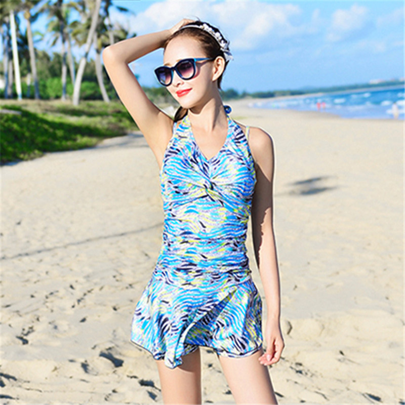 one piece swimming suit women swimsuit ladies female swimwear maillot de bain bathing suit skirt