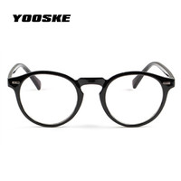YOOSKE Fashion Optical Glasses Frame Glasses With  ...