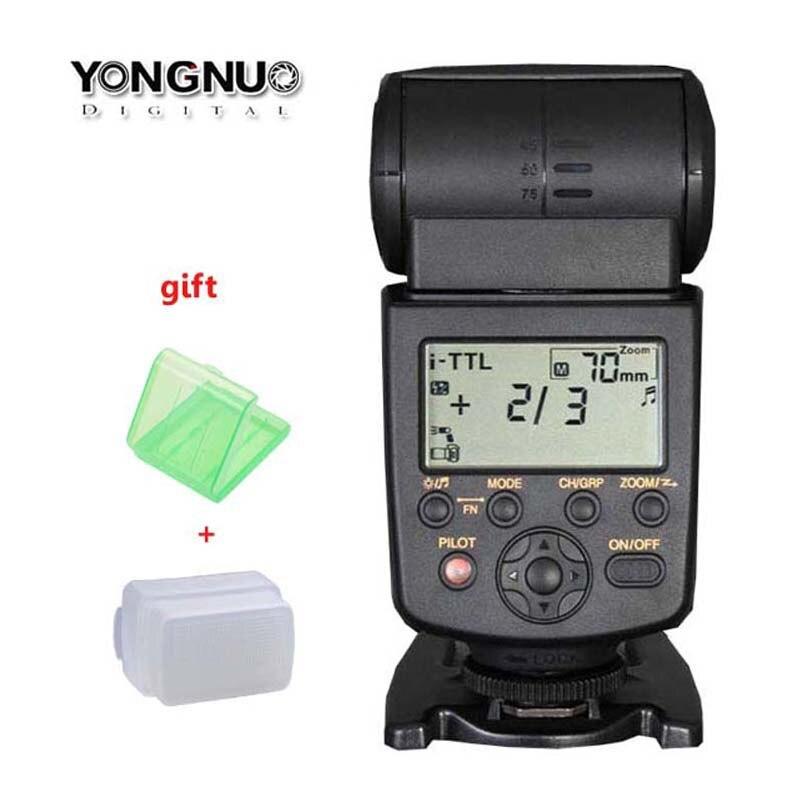 Yongnuo YN-568EX YN 568EX 568 HSS Flash Speedlite TTL for Nikon D810 D800 D750 D700 D7200 D7100 D610 D600 D5300 D80 Camear DSLR ironfix 568 60 700