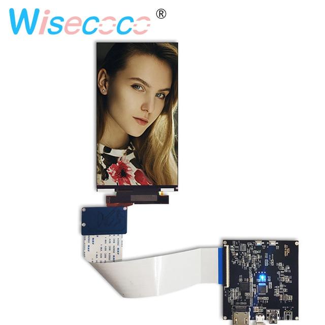 5,5 pulgadas 4 K lcd para Wanhao duplicador 7 DLP 3D impresora de pantalla LCD pantalla HDMI Placa de controlador de placa de controlador reemplazo