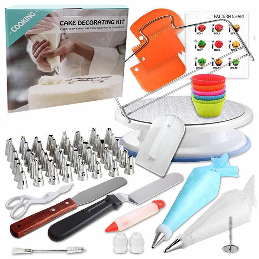 GZTZMY, 90 шт. в партии, кондитерский мешок, кондитерский мешок, насадки для обледенения, Кондитерские насадки, инструменты для украшения торта