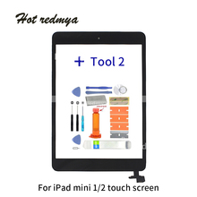 ecran 7.9 Touch Screen For iPad mini 1 2 a1432 A1454 A1455 Digitizer for ipad touch screen With Home Button+Repair