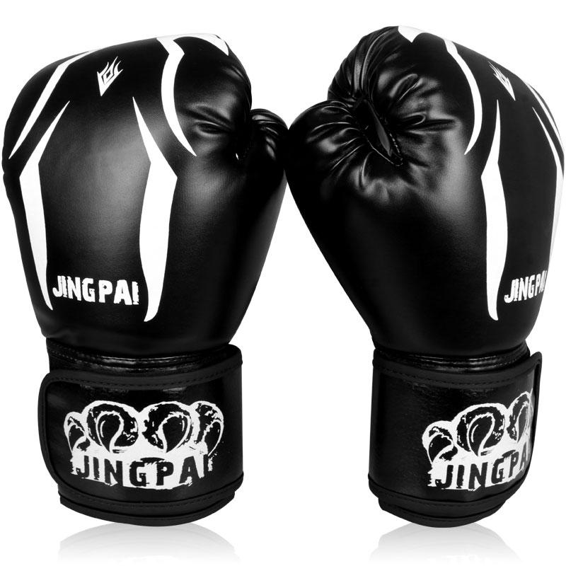 Meilleure Qualité 10 oz Gants De Boxe formation Poings gant Muay Thai Sandpad Adulte mâle femelle Sanda gant livraison gratuite dans   de