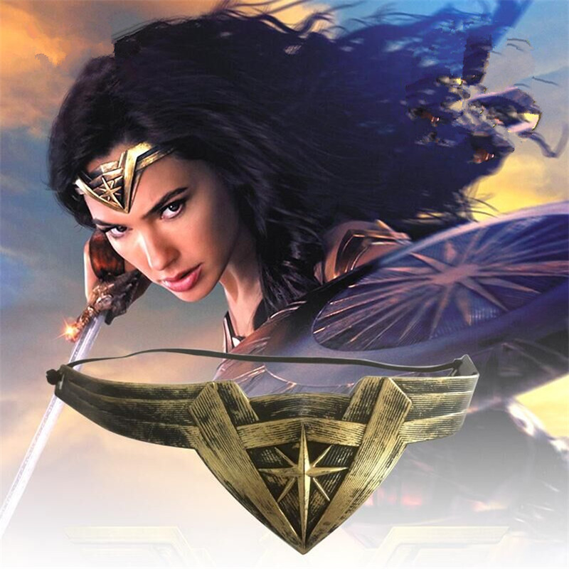 Movie Justice League Diana Prince Wonder Woman Headband Headdress Cosplay Costume Prop Kid Women Accessories