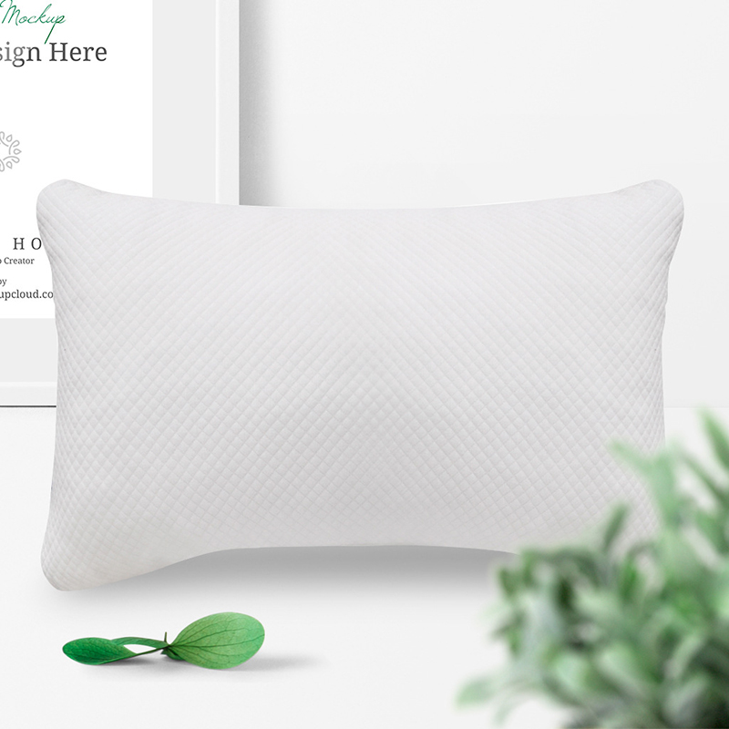Simple Color Comfortable Home Sleeping Pillows High Elastic Memory Foam Pillow Washable Adjustable Bedroom Pillow in Bedding Pillows from Home Garden