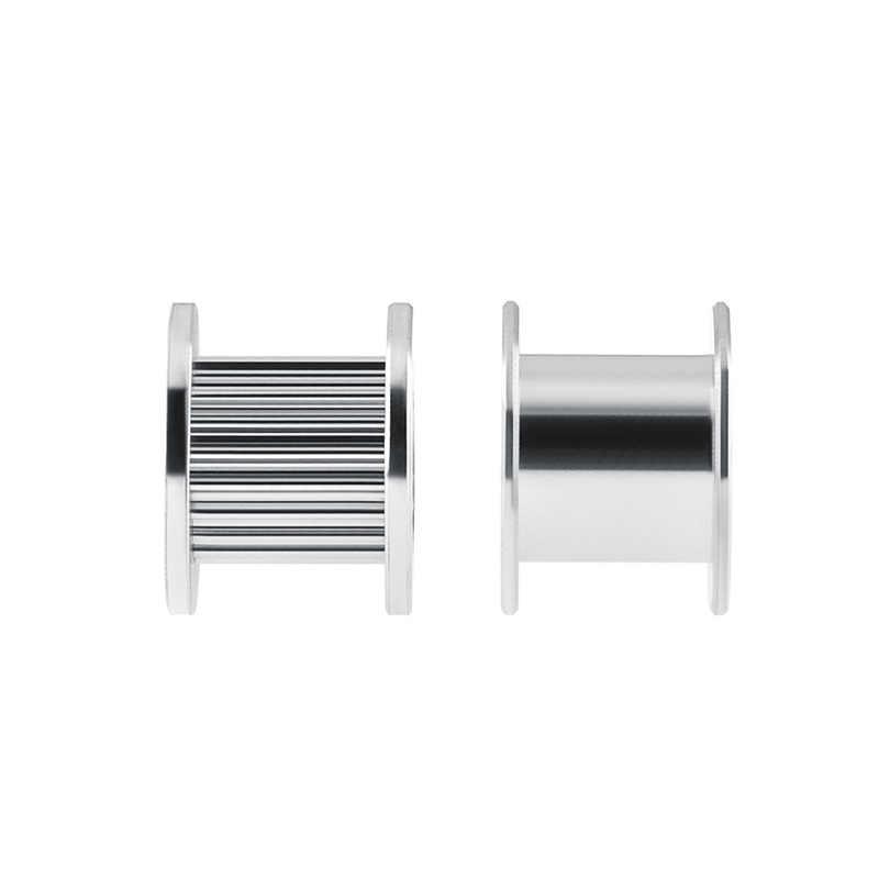5Pcs GT2 Idler Timing Pulley 16/20ฟันล้อBore 3/5Mmอลูมิเนียมเกียร์ฟันกว้าง6/10มม.3Dเครื่องพิมพ์สำหรับReprap Part