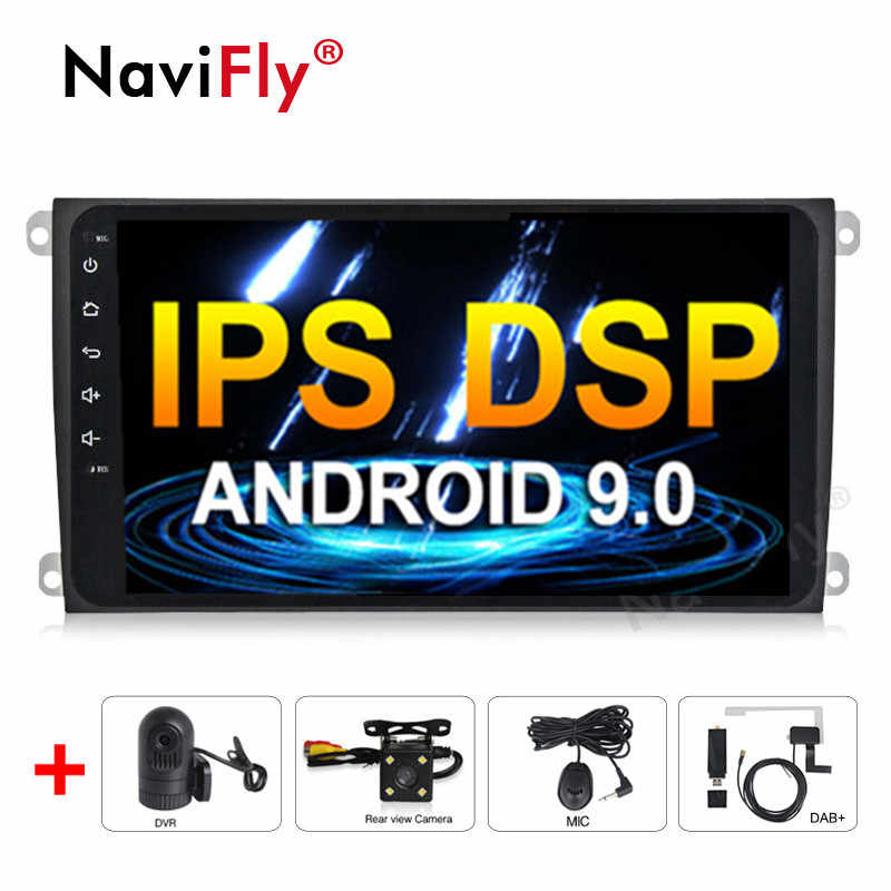 "9 ""Android 9,0 IPS DSP Car dvd radio reproductor Multimedia para Porsche Cayenne 2003-2010 para Cayenne S GTS 2003-2010 GPS WIFI BT RDS"