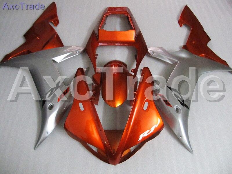 Custom Made Motorcycle Fairing Kit For Yamaha YZF1000 YZF 1000 R1 YZF-R1 2002 2003 02 03 ABS Fairings fairing-kit Injection Mold