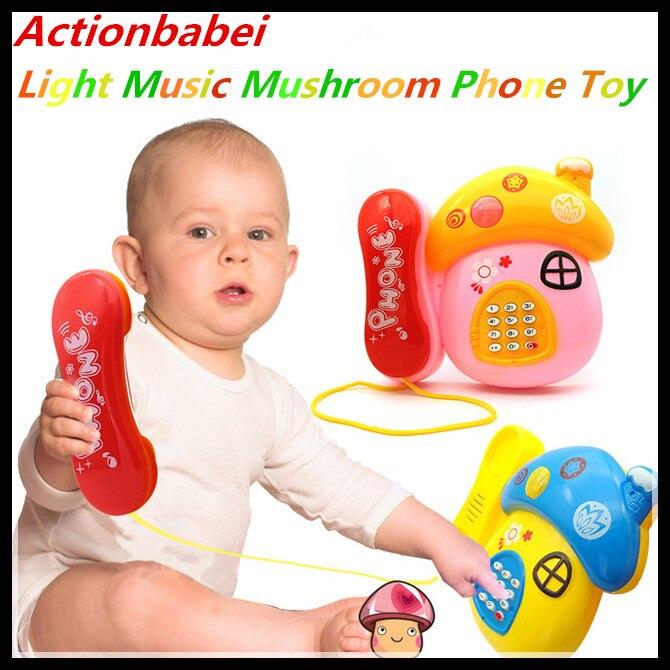 Baby Spielzeug Karikatur Telefon Pädagogisch Entwicklung Kinder Geschenk Sell