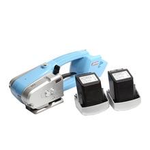 Батарея работающая обвязкий инструмент Пластик трения уплотнения инструмент для 1/2 ''5/8 ''13/16 мм PP/PET с Зарядное устройство и Батарея