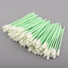 100 pcs Foam Tipped Inkjet small Cleaning Swabs for Roland Mimaki JV3 JV4 Mutoh dx3 dx3 dx4 dx5 Printer head Cleaning Swab small(China)