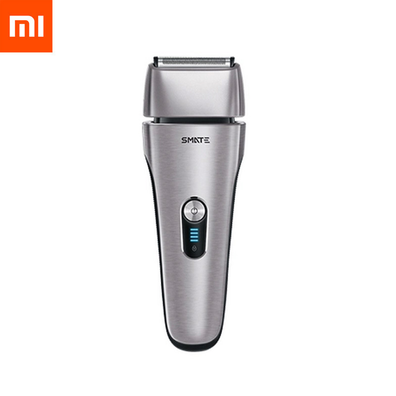 Xiaomi Mijia Smate Reciprocating Electric Razor Shaver Dry and Wet Available 4 Blade Electric Shaver 3